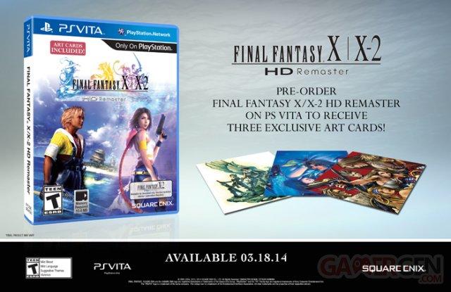 Final Fantasy X:X-2 HD Remaster bonus PSVita