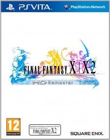 FINAL FANTASY X X-2 HD Remaster jaquette psvita