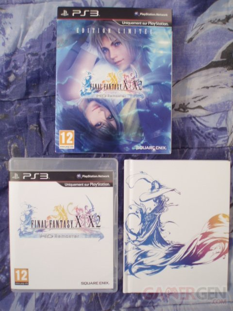 Final Fantasy XX-2 HD Remaster Edition Limitée déballage unboxing 21.03.13 (4)