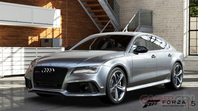 forza motorsport 5 2013 Audi RS7