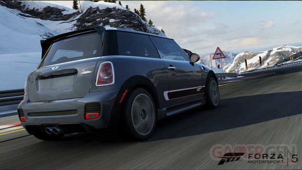 Forza motorsport 5 bondurant 2012 MINI John Cooper Works GP