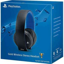 Gold Wireless Stereo Headset Sony casque 25.01.2014  (1)