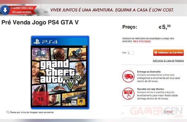 GTA 5  V PS4 portugal