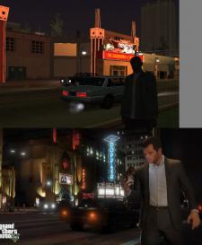 GTA V comparaison San Andreas images 03