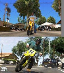 GTA V comparaison San Andreas images 05