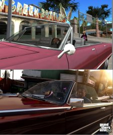 GTA V comparaison San Andreas images 07