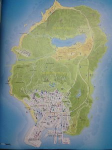 GTA V leak carte