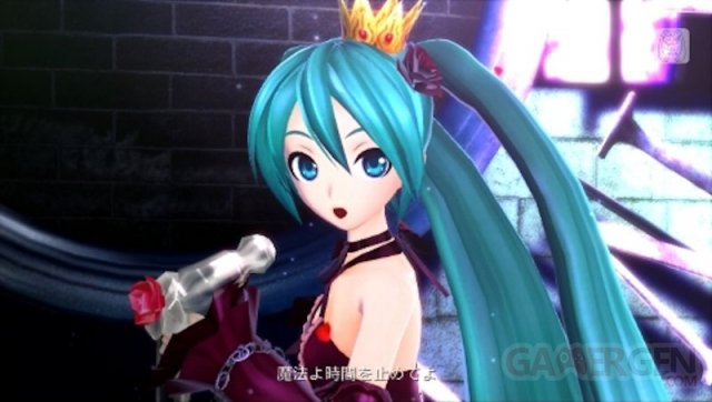 Hatsune Miku project diva f 2nd 17.10.2013.