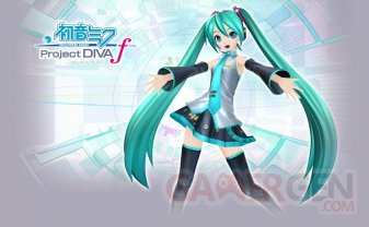 Hatsune Miku Project Diva f test 11.03.2014