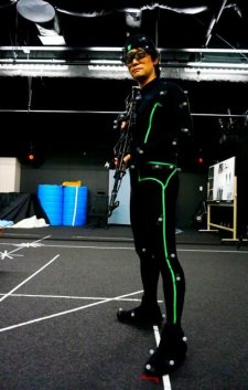 Hideo Kojima motion capture MGS 02