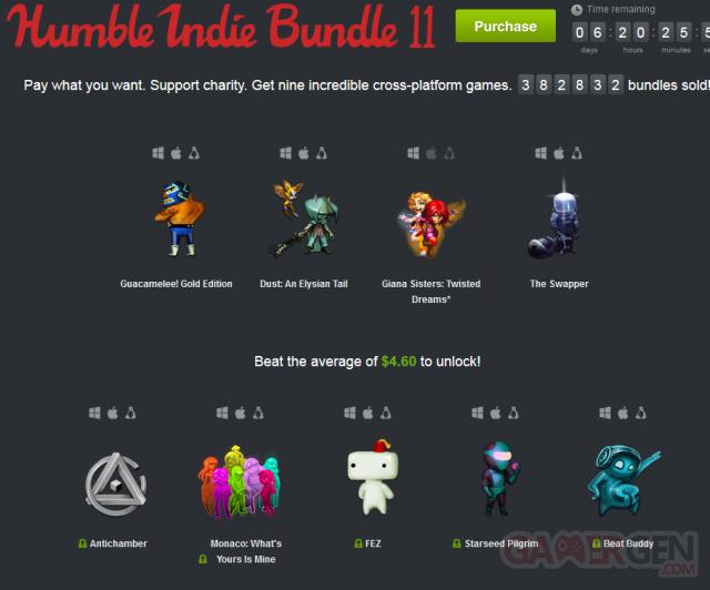 Humble Bundle semaine - 11