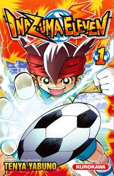 Inazuma Eleven Vol 1 manga 3ds 28.03.2014