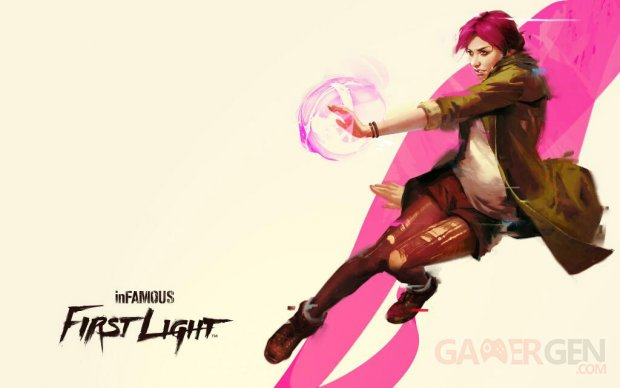 inFAMOUS First Light 25 06 2014 wallpaper