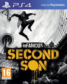 infamous second son 2 jaquette cover ps4