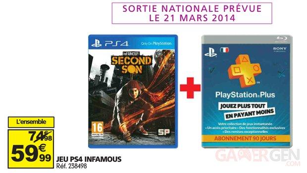inFAMOUS Second Son offre Auchan