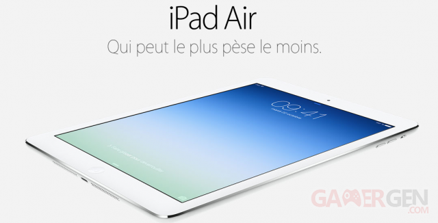 iPad Air - Site Apple
