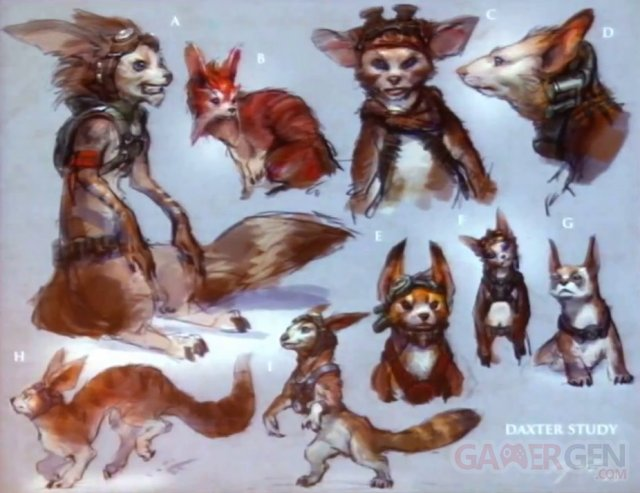 jak and daxter reboot concept