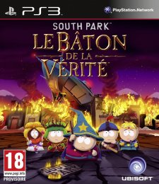 Jaquette PS3 South Park Le Baton De La Vérité