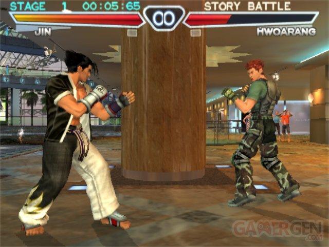 Jin_Versus_Hwoarang_Tekken_4