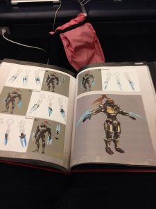 Killer Instinct Fulgore artbook 25.11.2013 (2)