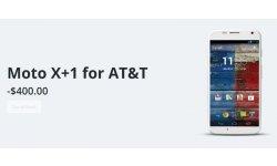 Le Motorola Moto X+1 réapparaît sur le site du constructeur avec une image et un prix