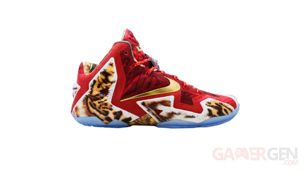 Lebron 11 coeur de lion NBA 2K14