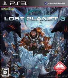 Lost Planet 3 jaquette japonaise logo vignette 01.08.2013.
