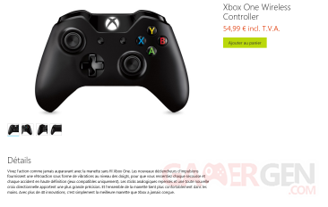 manette xbox one microsoft store