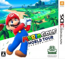 Mario Golf World Tour jaquette jp