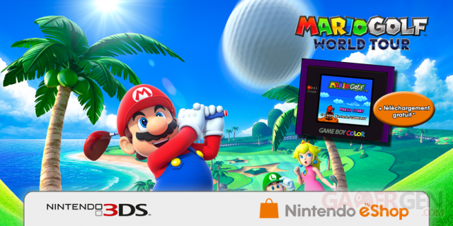 Mario Golf World tour offre eshop