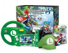 Mario Kart 8 Bundle Wii U UK Luigi