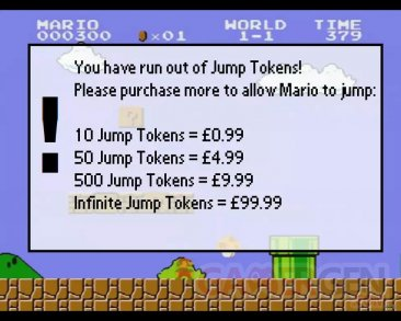 Mario sur mobile