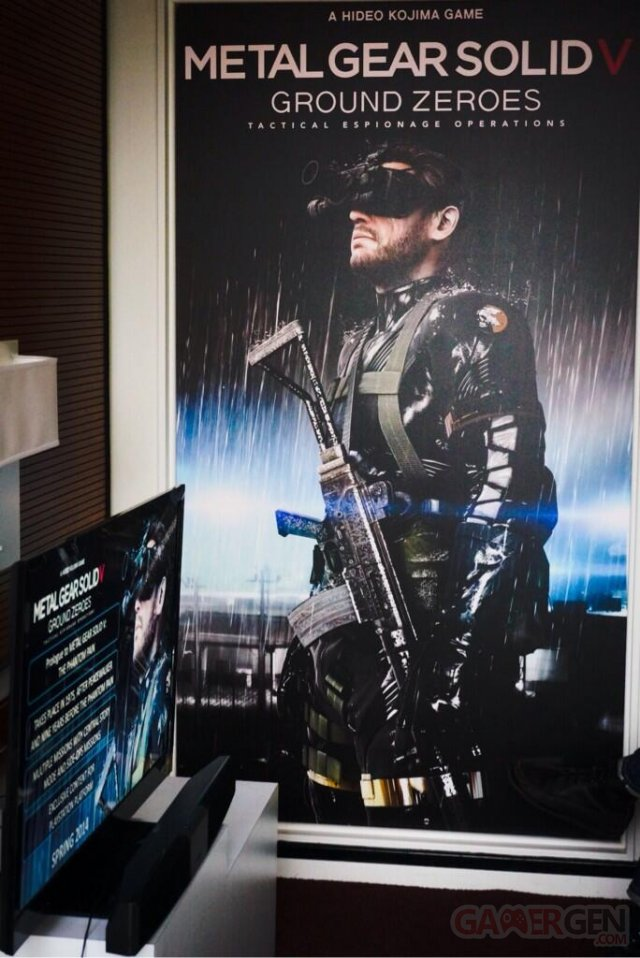 metal gear solid V ground zeroes contenu exclusif playstation