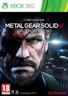Metal Gear Solid V Ground Zeroes jaquette 2