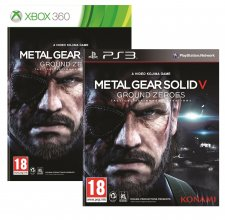 Metal Gear Solid V Ground Zeroes jaquettes 17.03.2014