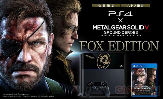 Metal Gear Solid V Ground Zeroes - Première édition limitée PlayStation 4 17.02.2014