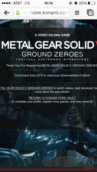 metal gear solid v the phantom pain date de sortie dlc ground zeroes
