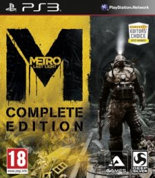 Metro Last Light Complete Edition PS3.