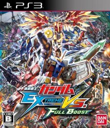 Mobile Suit Gundam Extreme Vs. Full Boost jaquette ps3