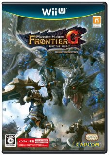 Monster Hunter Frontier G jaquette jap