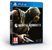Mortal Kombat X jaquette PS4 1