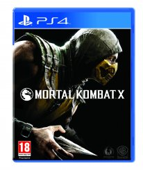 Mortal Kombat X jaquette PS4 2