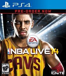 NBA Live 14 jaquette PS4