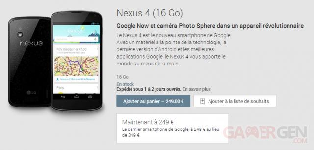nexus-4-baisse-prix
