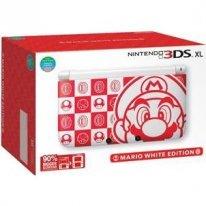 Nintendo 3DS XL Mario White Edition 2