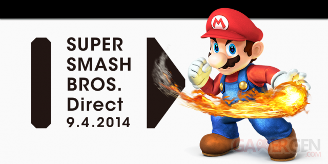 Nintendo Direct Super Smash Bros