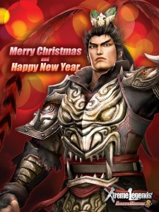 Noel-Carte-voeux-Dynasty-Warriors