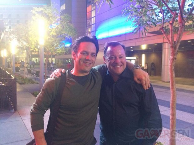 phil spencer jack tretton e3 2014