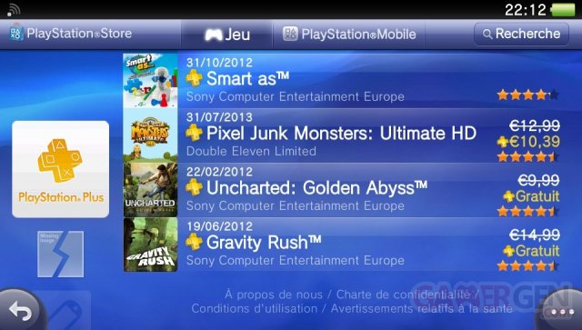 pixel junk monsters ultimate hd ps+ playstation plus erreur prix.