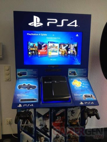PlayStation 4 bornes démo